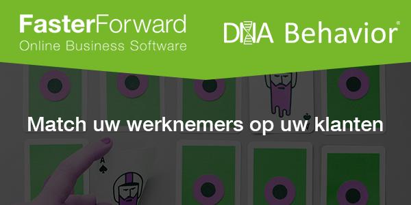 Faster Forward en DNA behavior: een unieke samenwerking!