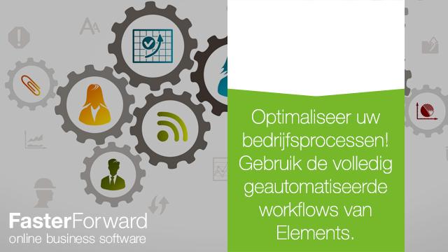Maak gebruik van onze volledig geautomatiseerde workflows om uw bedrijfsprocessen te optimaliseren!