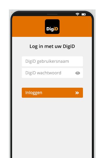 DigiD inloggen