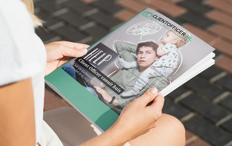 Communiceren vanuit huis | Client Officer magazine juni