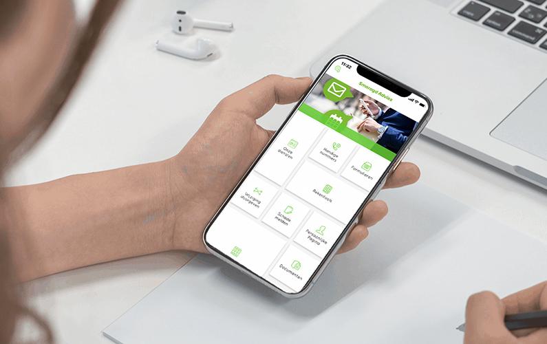 Realtime verbinding met uw eigen Assurantie App