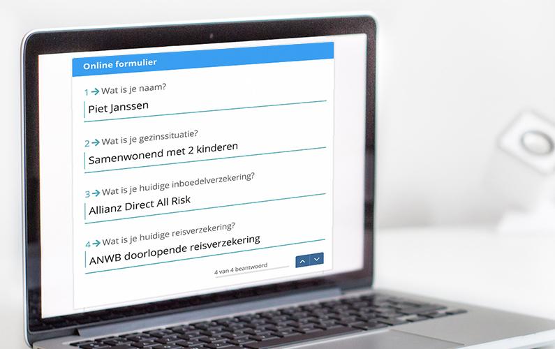 Digitale formulieren voor een optimale klantreis